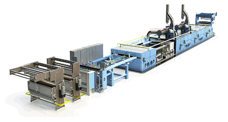 Ram-X Series stenter machine from HAS Group.