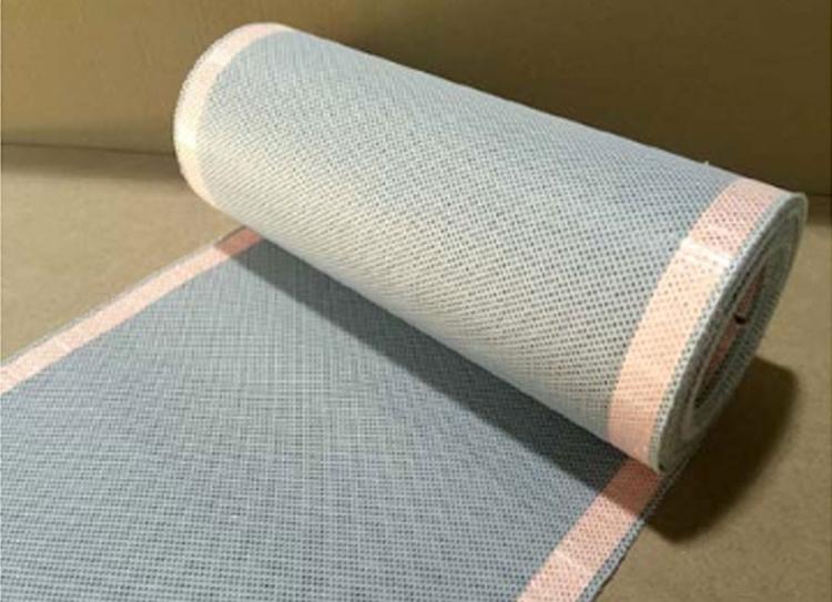 No Metallic Flexible Heating Fabrics For Composites