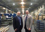 Tamer Hasbay, Has Group president and Stefano Gallucci, CEO, Santex Rimar Group.