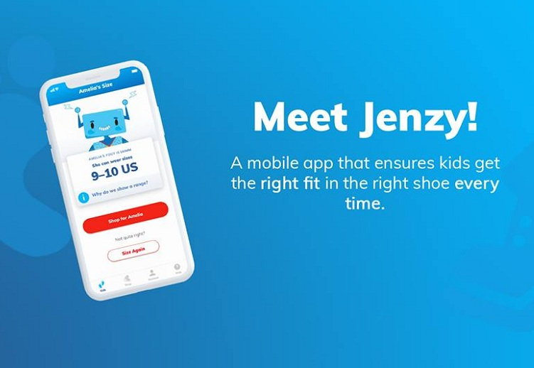 Sizing app improves footwear buying process
