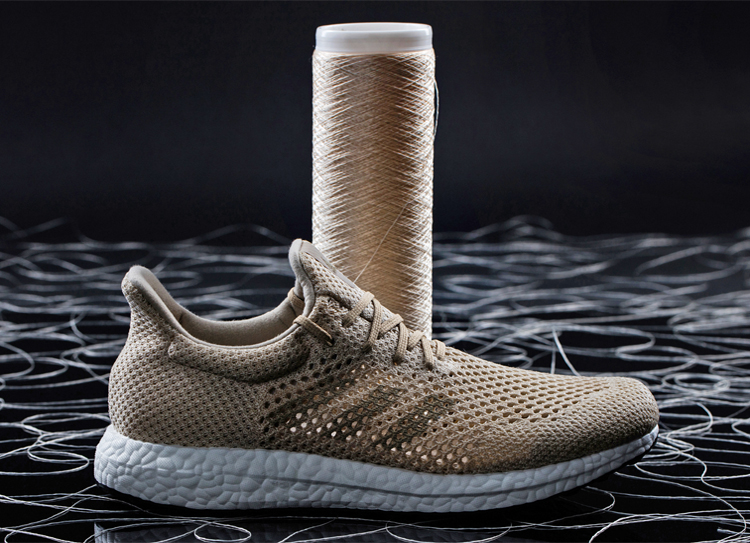 low priced 5329e 8f537 Adidas unveils biodegradable silk footwear