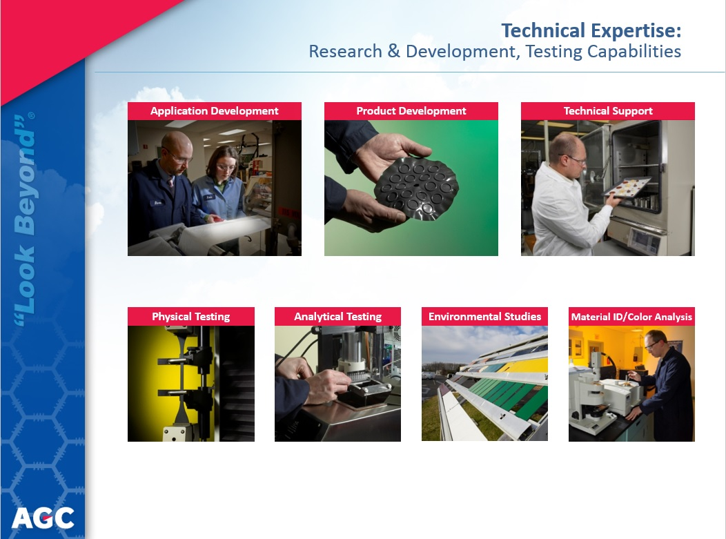 AGC chemical expertise